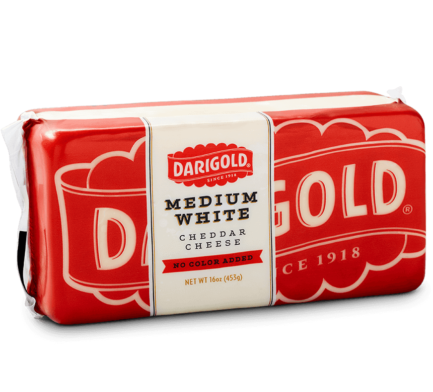 Medium White Cheddar Cheese - Block