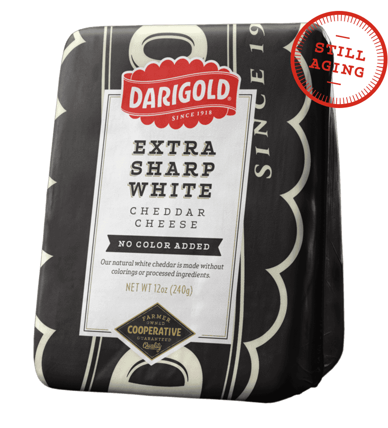 Extra Sharp White Cheddar Cheese - Wedge
