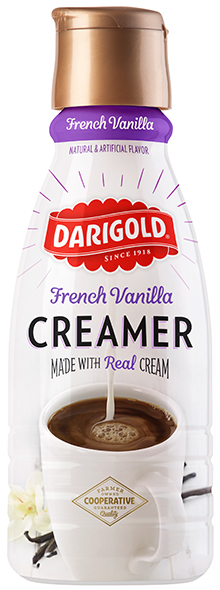 Creamer French Vanilla Quart - Darigold