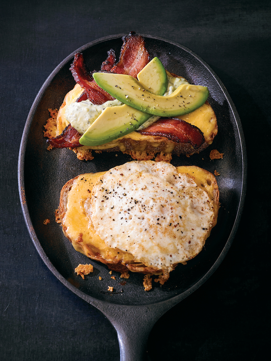 Grilled-Cheese-with-Peppered-Bacon-and-Eggs