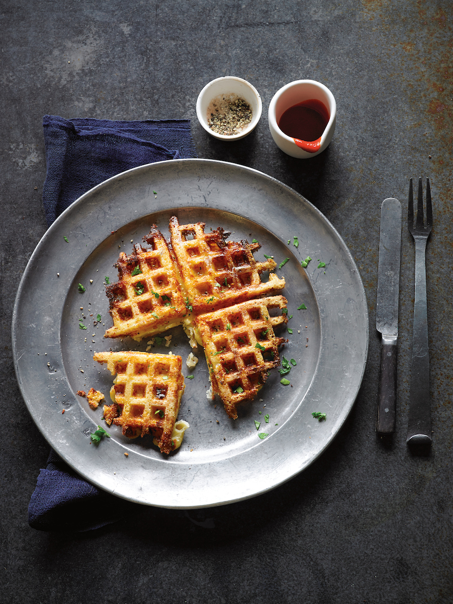 Waffled-Mac-and-Cheese